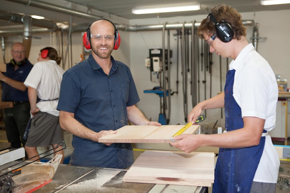 TAS Industrial Design woodwork room offers excellent facilities