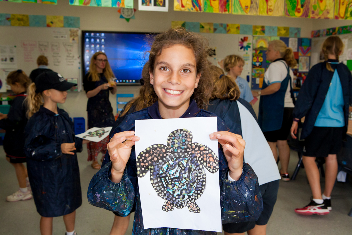 Junior school benefits from new art room facilities