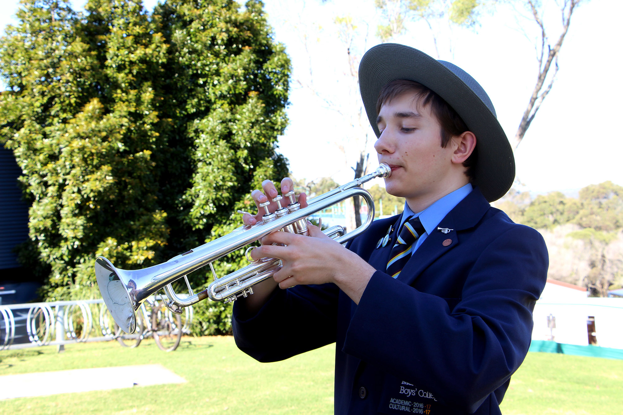 Moreton Bay Boys' College Musician represents Australia in Scotland