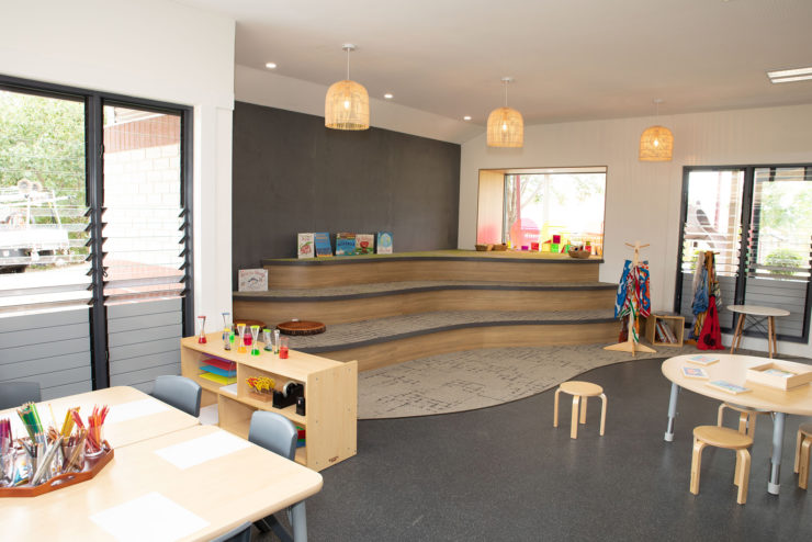 The Moreton Bay Colleges welcome families to new Pre-Prep facility.