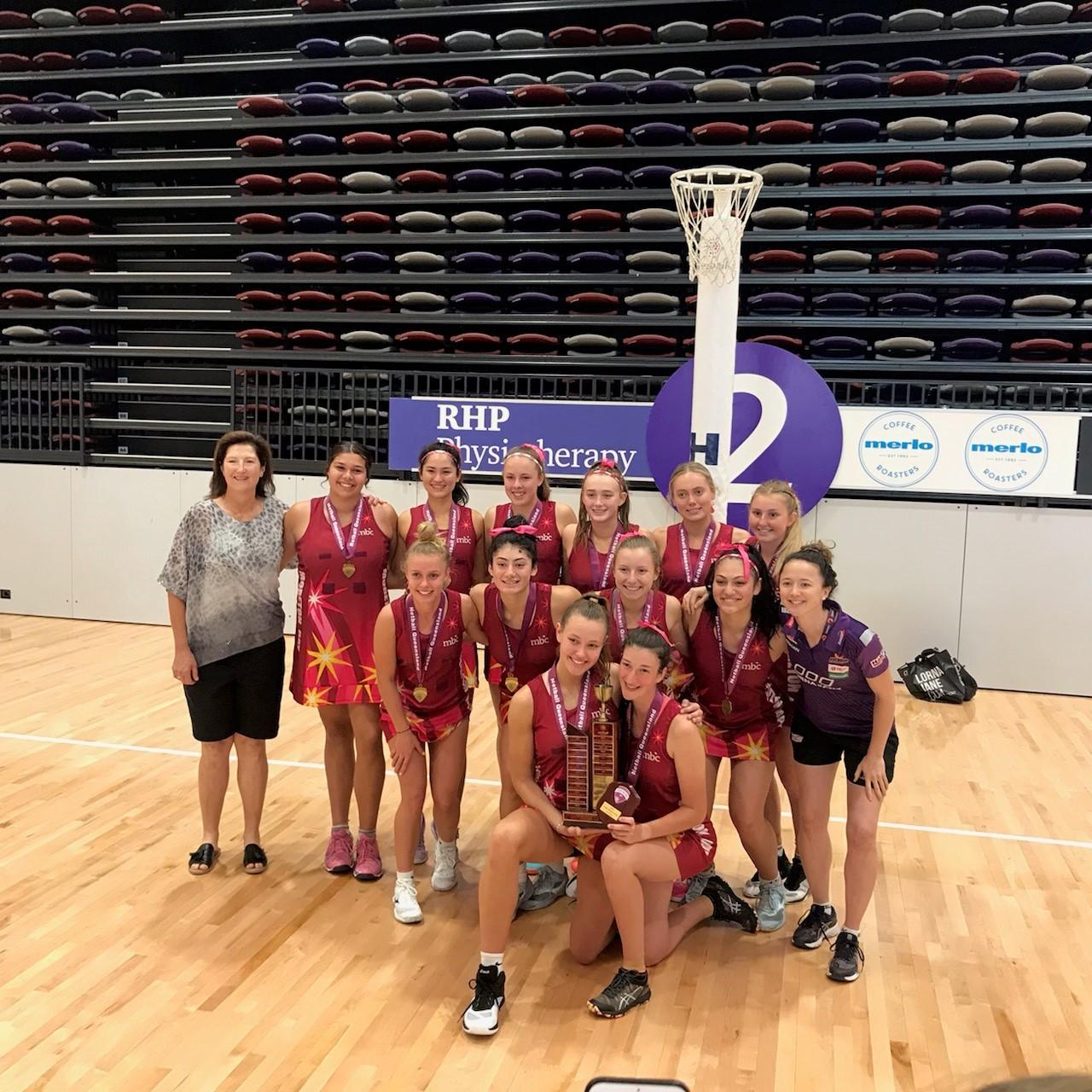 Moreton Bay College State Netball Champions