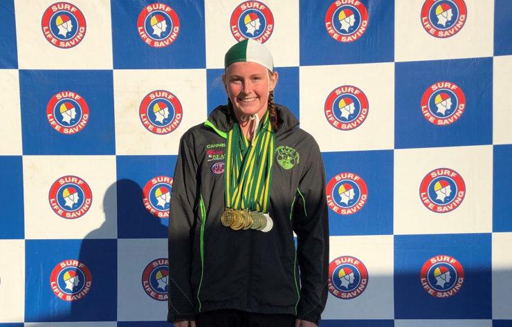 Lily breaks Australian Records at Surf Lifesaving Pool Rescue Championships