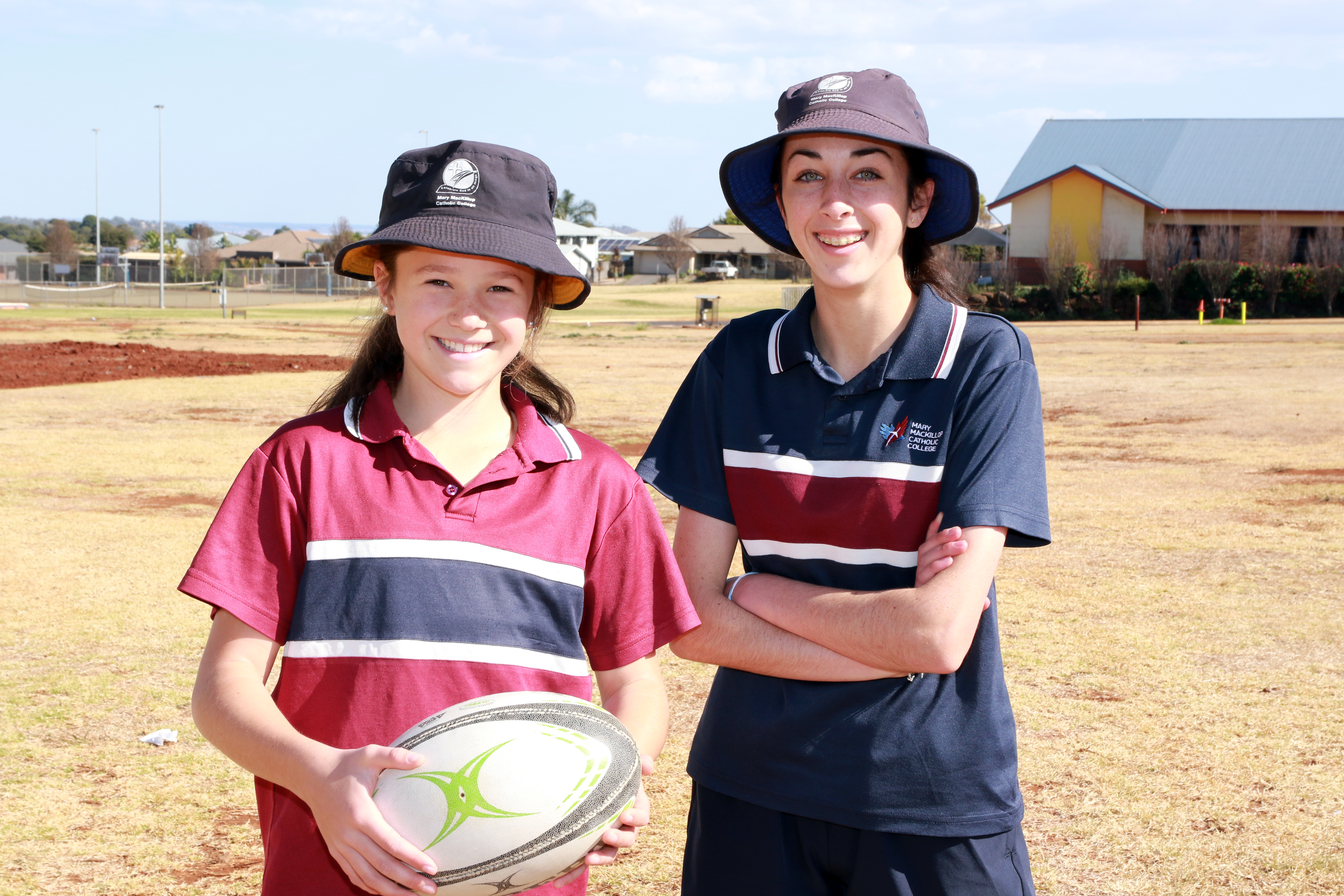 Touch Football at Mary MacKillop Highfields