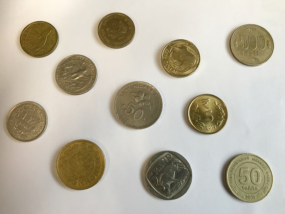 Foreign Currency Coins